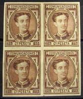 España 177s (4) * - 1875-1882 Reino: Alfonso XII