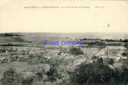 38 - St-Pierre-le-Bressieux - Vue Générale Du Village - 1908 - France