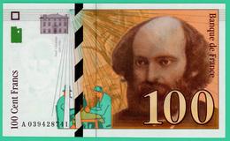 100 Francs - France -  Sézanne - 1997 - N° A039428741 -  Neuf  - - 1992-2000 Dernière Gamme