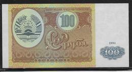 Tadjikistan - 100 Rubles - Pick N°6 - NEUF - Tadjikistan