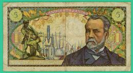 5 Francs - France -  Pasteur - N° D.23  61730 - / L.7-7-1966.L  TB+ - - 5 F 1966-1970 ''Pasteur''