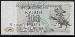 Transnistria - 100 Rublei - Pick N°20 - NEUF - Autres - Asie