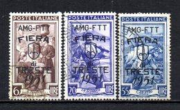 ITALIA TRIESTE 1951 CANCELLED, - 7. Triest