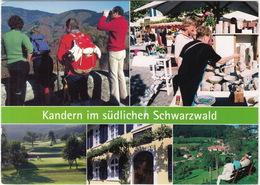 GOLF: Kandern (Schwarzwald) - Golfplatz, Sausenburgblick, Töpfermarkt Usw - (Deutschland/ D.) - Golf