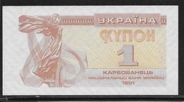 Ukraine - 1 Karbovanets - Pick N°81 - NEUF - Ucrania