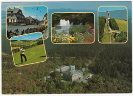 GOLF: Winterberg - Golf , Skischanze - Astenturm 842 M. ü.M. Und Winterberg - (Deutschland/ D.) - Golf