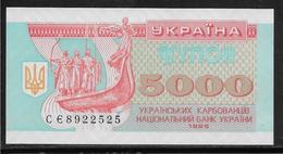 Ukraine - 5000 Karbovantsiv - Pick N°93b - NEUF - Ucrania
