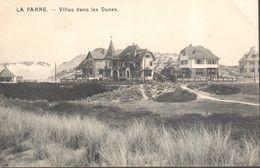 CPA - Belgique - Flandre Occidentale - La Panne - Villas Dans Les Dunes - De Panne