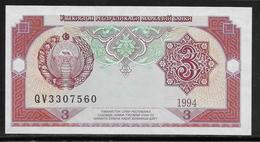 Ouzbékistan - 3 Sum - Pick N°74 - NEUF - Ouzbékistan