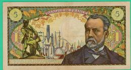 5 Francs - France -  Pasteur - N° S.78  59479  / F.4-4-1968.F. - TB+ - - 5 F 1966-1970 ''Pasteur''