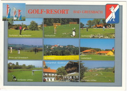 GOLF RESORT Bad Griesbach: 3 18-Loch-Meiserschaftsplätze, 2 9-Loch-Par-3-Parcours, 6-Loch-'Hackerwiese' - (Deutschland) - Golf