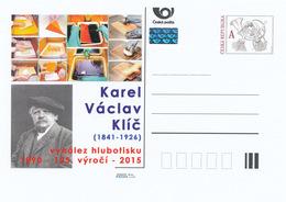 Rep. Ceca / Cart. Postali (Pre2015/28) Karel Vaclav Klic (1841-1926) Pittore, Fotografo, Inventore Di Photogravure - Interi Postali