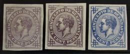 España 183P (3) * - 1875-1882 Reino: Alfonso XII