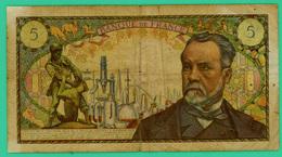 5 Francs - France -  Pasteur - N° S.88 99096 / D.6-2-1969.D.  - TB - - 5 F 1966-1970 ''Pasteur''