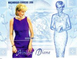 Mozambico 1998, Diana, BF - Mozambique