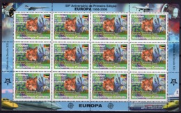 Mozambico 2006, 50th Europa Stamps, Building Of Europe, Packs, Sheetlet Of 12val - Mozambique