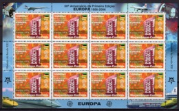 Mozambico 2006, 50th Europa Stamps, Building Of Europe, Sheetlet Of 12val - Mozambique