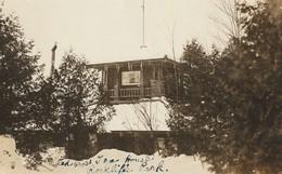 Red Cross Tea House, Rockliffe Park, Ottawa, Ontario Real Photo Post Card - Ottawa