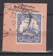 DUITSE KOLONIEN - SUDWEST-AFRIKA  1906  Michel  27   OMARURU , See  Scan ,used/VF  [DK  488  ] - Colonie: Afrique Sud-Occidentale