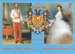 Austria Kaiser Franz Jozef & Kaiserin Elisabeth - Familles Royales