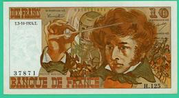 10 Francs - France -  Berlioz - N° H.125 37871 / T.3-10-1974.T. - Sup - - 1962-1997 ''Francs''