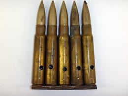 Lame-chargeur De 5 Cartouches 7.92 Mauser Allemandes WW1 - Neutralisées - 1914-18