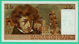 10 Francs - France -  Berlioz - N° U.101 7144 / T.3-10-1974.T.  - Sup - - 1962-1997 ''Francs''