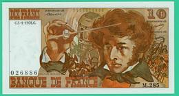 10 Francs - France -  Berlioz - N° M.285 026886 / C.5-1-1976.C.  - Sup - - 1962-1997 ''Francs''