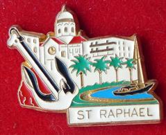 Pin's Pins VILLE ST RAPHAEL - Pin's