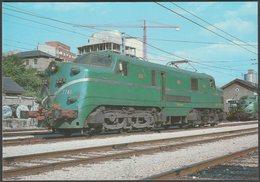 Locomotora Electrica 7741 Serie 7701 A 7775 - Ferroviaries Tarjeta Postal - Trains