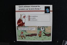 Fiche Atlas, TINTIN (extrait De, Tintin Au Congo) - Histoire De La Vie N°12. Que Animaux Vécurent Sur La Terre   ? - Sammlungen