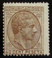 España 195 * - 1875-1882 Reino: Alfonso XII
