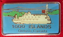 Pin's Pins BATEAU ONTARIO CANADA - Pin's