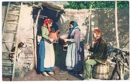 B3164- Palermo Costumi Siciliani, Scena Di Campagna, Viaggiata 1930 - Palermo