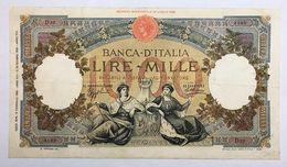 1000 Lire Regine Del Mare Fascio Roma 12 02 1935 Raro Forellini  Ma Ottimi Colori Bb  LOTTO 2291 - [ 1] …-1946 : Regno