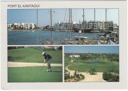 GOLF - Port El Kantaoui Et Le Golfe - (Tunesie) - 2x Golf & Boats - Golf