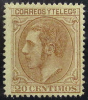 España 203 * - 1875-1882 Reino: Alfonso XII