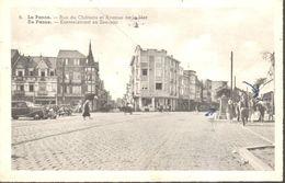 CPA - Belgique - Flandre Occidentale - La Panne - Rue Du Château Et Avenue De La Mer - De Panne