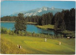 GOLF - Crans-Montana, Valais - Sur Le Parcours Du Grand Golf, Passage Devant L'étang De La Moubra - (Suisse/Schweiz/CH) - Golf