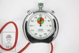 Vintage Chronometer / Stopwatch By Leonidas - Trackmaster - Working - Jewels & Clocks