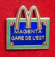 Pin's Pins MAC DO GARE DE L'EST - Pin's