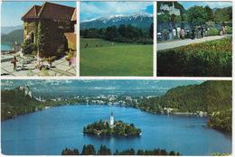 GOLF:  Bled - Golf  & Mariakirche - (Jugoslavija,YU.) - Golf
