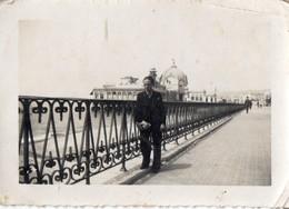 PHOTO  ANCIENNE -  NICE  - Souvenir De Juin 1938 - Lieux
