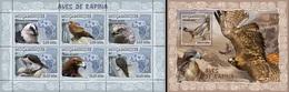 Mozambico 2007, Animals, Birds Of Prey, 6val In BF +BF - Mozambique