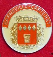 Pin's Pins VILLE BARNEVILLE CARTERET - Pin's