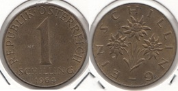 AUSTRIA 1 Schilling 1964 KM#2886 - Used - Austria