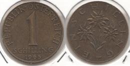 AUSTRIA 1 Schilling 1965 KM#2886 - Used - Austria