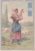 1900 BERRICHONNE : Belle Illustration (publicité Chicorée Arlatte Cambrai) - Non Classés