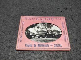"""ANTIQUE PORTUGAL SINTRA PHOTOS CARNET """" RECORDAÇÃO DO PALACIO DE MONSERRATE"""" - Reproductions"""
