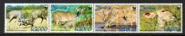 ZAMBIE ZAMBIA 1392/95  Antilope Koudou - W.W.F.